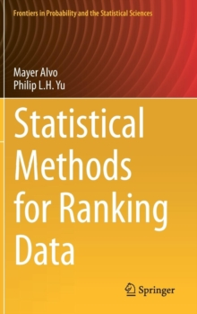 Statistical Methods for Ranking Data, Hardback Book