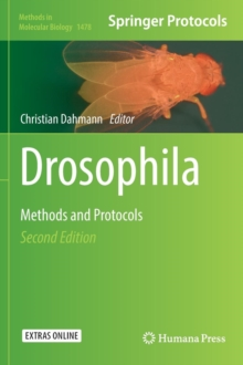 Drosophila : Methods and Protocols, Hardback Book