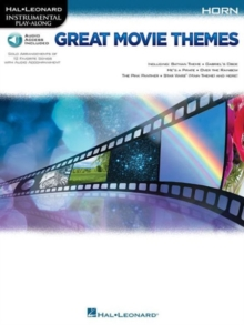 Instrumental Play-Along : Great Movie Themes - Horn, Mixed media product Book