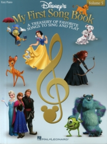 Disney's My First Songbook : Volume 5 (Easy Piano), Paperback Book