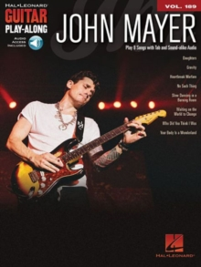 Guitar Play-Along Volume 189 : John Mayer (Book/Online Audio), Paperback / softback Book