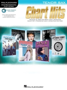 Instrumental Play-Along : Chart Hits - Tenor Saxophone (Book/Online Audio), Paperback / softback Book