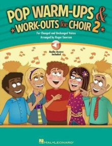 Roger Emerson : Pop Warm-Ups And Work-Outs For Choir - Volume 2 (Book/Online Audio), Paperback / softback Book