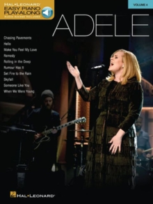 Easy Piano Play-Along Volume 4 : Adele (Book/Online Audio), Paperback / softback Book