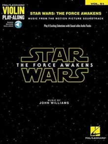 Violin Play-Along Volume 61 : Star Wars - The Force Awakens (Book/Online Audio), Paperback / softback Book