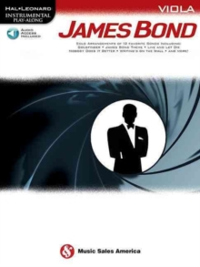 Hal Leonard Instrumental Play-Along : James Bond - Viola (Book/Online Audio), Paperback / softback Book