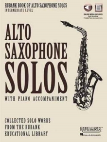 RUBANK BOOK OF ALTO SAXOPHONE SOLOS INTE,  Book