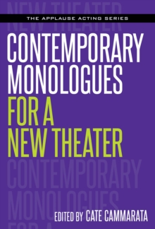 Contemporary Monologues for a New Theater, Paperback / softback Book