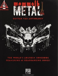 Guitar Recorded Versions : Mammoth Metal Guitar Tab Anthology, Paperback / softback Book
