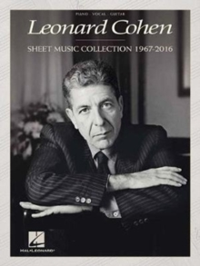 Leonard Cohen : Sheet Music Collection (1967-2016), Paperback / softback Book