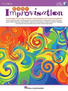 EASY IMPROVISATION TUBA,  Book