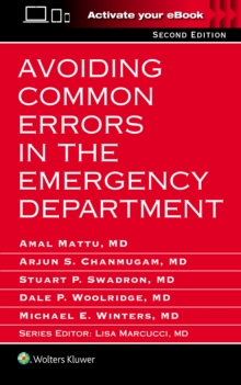 Avoiding Common Errors in the Emergency Department, Paperback Book