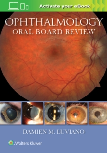 Ophthalmology Oral Board Review, Paperback Book