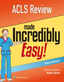 ACLS Review Made Incredibly Easy, Paperback / softback Book