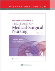Brunner & Suddarth's Textbook of Medical-Surgical Nursing, Hardback Book