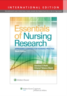 Essentials of Nursing Research, Paperback / softback Book