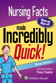 Nursing Facts Made Incredibly Quick, Spiral bound Book