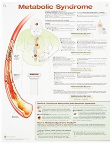 Metabolic Syndrome Anatomical Chart Laminated, Poster Book