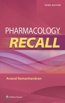 Pharmacology Recall, Paperback / softback Book