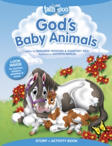 God's Baby Animals Story + Activity Book, Paperback Book