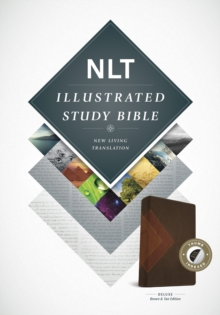 Illustrated Study Bible NLT, TuTone, Leather / fine binding Book