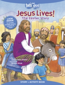 Jesus Lives! The Easter Story, Story + Activity Book, Paperback Book