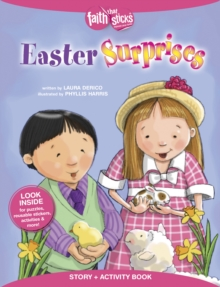 Easter Surprises Story + Activity Book, Paperback Book