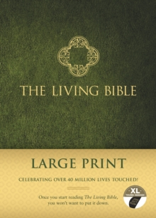 The Living Bible Large Print Edition, Hardback Book
