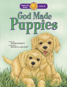God Made Puppies, Paperback Book