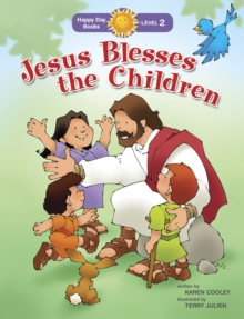 Jesus Blesses the Children, Paperback Book