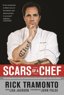 Scars of a Chef, Paperback Book