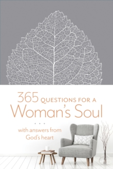 365 Questions for a Woman's Soul, Leather / fine binding Book