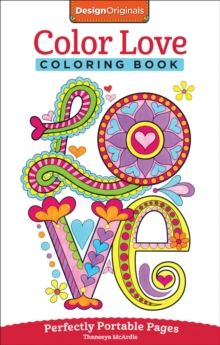 Color Love Coloring Book, Paperback Book