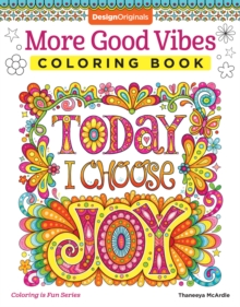 More Good Vibes Coloring Book, Paperback Book