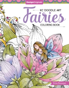 KC Doodle Art Fairies Coloring Book, Paperback Book