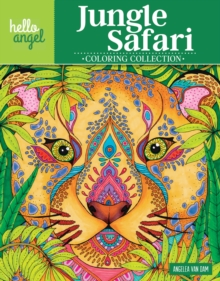 Hello Angel Jungle Safari Coloring Collection, Paperback Book