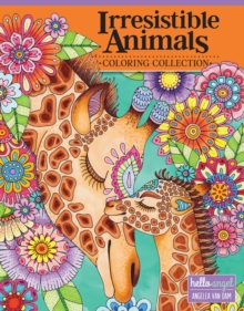 Hello Angel Irresistible Animals Coloring Collection, Paperback / softback Book