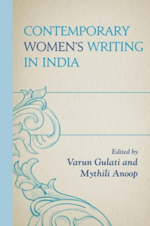 Contemporary Women's Writing in India, Hardback Book