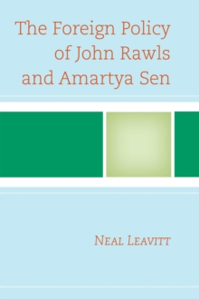The Foreign Policy of John Rawls and Amartya Sen, Paperback / softback Book