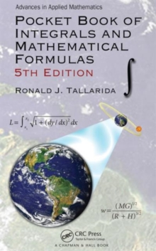 Pocket Book of Integrals and Mathematical Formulas, Paperback / softback Book