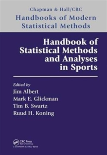 Handbook of Statistical Methods and Analyses in Sports, Hardback Book