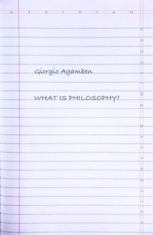 What Is Philosophy?, Paperback / softback Book