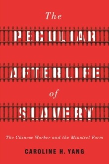 The Peculiar Afterlife of Slavery : The Chinese Worker and the Minstrel Form, Hardback Book