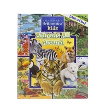 Encyclopediaopedia Britannica Animals Look Fin, Hardback Book