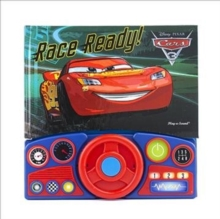 Cars 3 Steering Wheel Book, Hardback Book