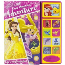 Disney Princess Lift A Flap Sound Book, Hardback Book