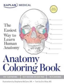 Anatomy Coloring Book, Paperback Book