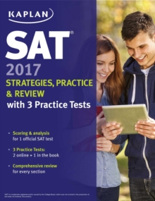 SAT 2017 Strategies, Practice & Review with 3 Practice Tests : Online + Book, EPUB eBook