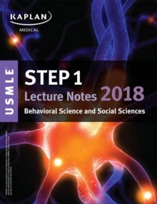 USMLE Step 1 Lecture Notes 2018: Behavioral Science and Social Sciences, EPUB eBook