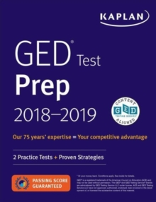 GED Test Prep 2018 : 2 Practice Tests + Proven Strategies, Paperback / softback Book
